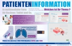 Patienteninformation in multimedialer Form